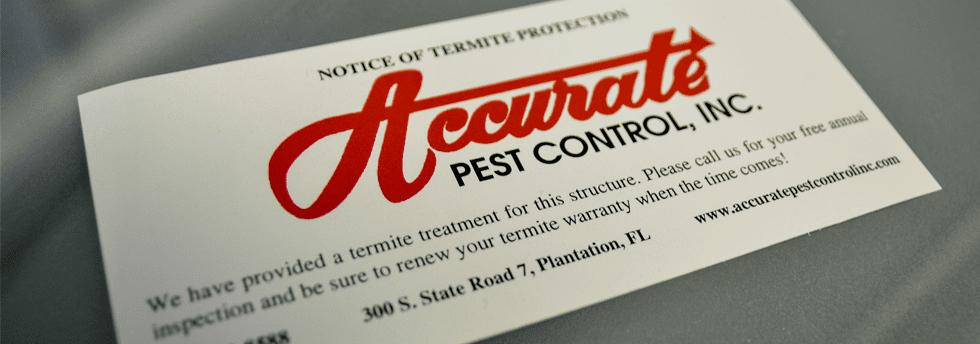 Pest Control Plantation Logo